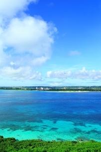 来間島より望む前浜ビーチの写真素材 [FYI01817442]