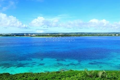来間島より望む前浜ビーチの写真素材 [FYI01817554]