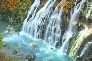 美瑛・白ひげの滝の写真素材 [FYI01817579]