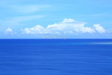 東平安名崎より望む青い海の写真素材 [FYI01817590]