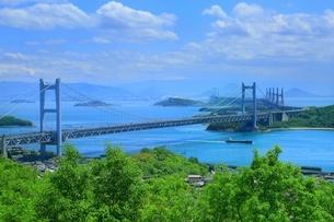 瀬戸大橋の写真素材 [FYI01818063]