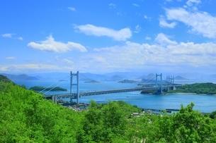 瀬戸大橋の写真素材 [FYI01818188]