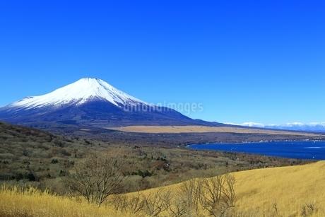 三国峠より望む富士山の写真素材 [FYI01818212]