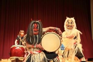 五風なまはげ太鼓ライブの写真素材 [FYI01818568]