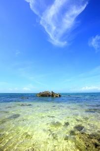 西表島・南風見田の浜の写真素材 [FYI01818857]