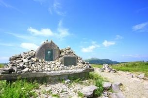 夏の美ヶ原高原の写真素材 [FYI01818883]