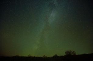 星空の弟子屈の写真素材 [FYI01818891]