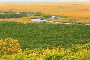 秋の釧路湿原の写真素材 [FYI01819018]