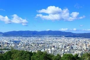 東山・将軍塚より望む京都市街の写真素材 [FYI01819024]
