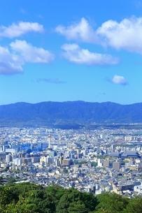 東山・将軍塚より望む京都市街の写真素材 [FYI01819059]