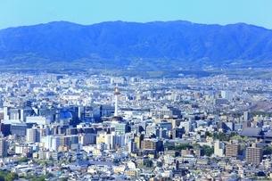東山・将軍塚より望む京都市街の写真素材 [FYI01819073]