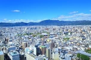 京都タワーより望む京都市街の写真素材 [FYI01819091]