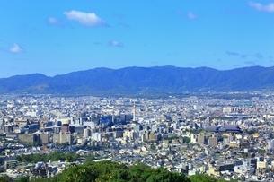 東山・将軍塚より望む京都市街の写真素材 [FYI01819110]