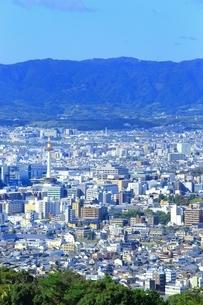 東山・将軍塚より望む京都市街の写真素材 [FYI01819167]