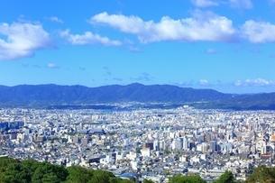 東山・将軍塚より望む京都市街の写真素材 [FYI01819168]