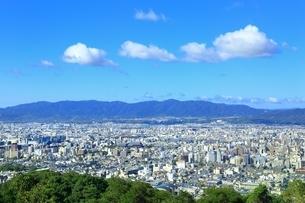 東山・将軍塚より望む京都市街の写真素材 [FYI01819235]