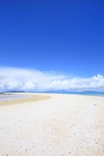 浜島の青い海と夏空の写真素材 [FYI01819329]