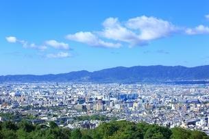 東山・将軍塚より望む京都市街の写真素材 [FYI01819367]