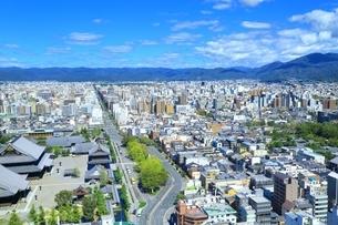 京都タワーより望む京都市街の写真素材 [FYI01819377]