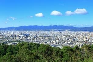東山・将軍塚より望む京都市街の写真素材 [FYI01819432]