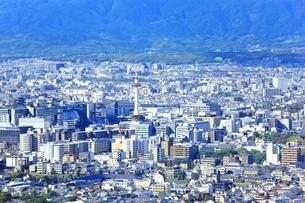 東山・将軍塚より望む京都市街の写真素材 [FYI01819443]