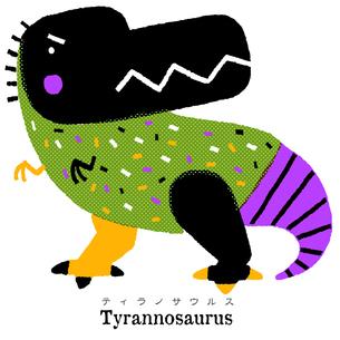 ティラノサウルスのイラスト素材 [FYI01819591]