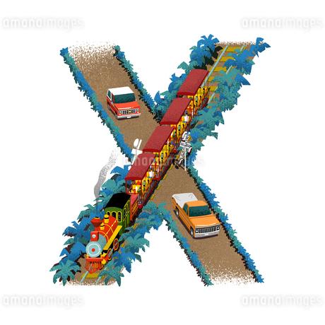 アルファベット Xのイラスト素材 [FYI01819829]