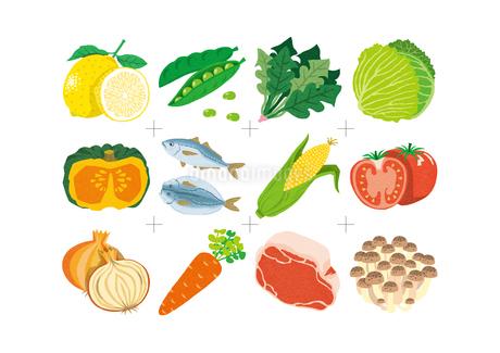 vegetablesのイラスト素材 [FYI01820008]