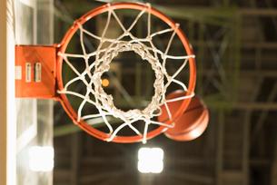 バスケットゴールの写真素材 [FYI01820422]