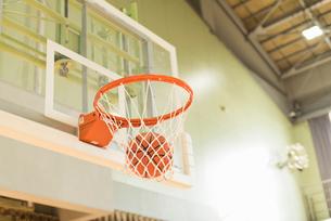 バスケットゴールの写真素材 [FYI01820479]