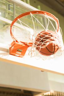 バスケットゴールの写真素材 [FYI01820493]