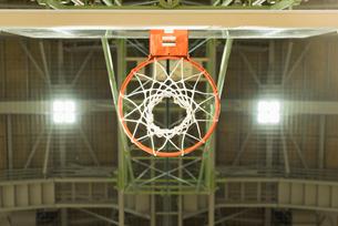 バスケットゴールの写真素材 [FYI01820550]