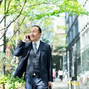 シニアのビジネスマンの写真素材 [FYI01820603]