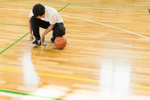 バスケットボール ミドルの写真素材 [FYI01820615]