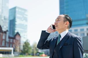 シニアのビジネスマンの写真素材 [FYI01820705]