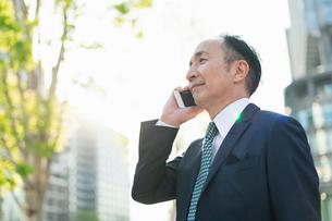 シニアのビジネスマンの写真素材 [FYI01820777]