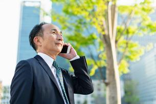 シニアのビジネスマンの写真素材 [FYI01820815]