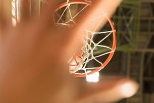 バスケットゴールの写真素材 [FYI01820833]