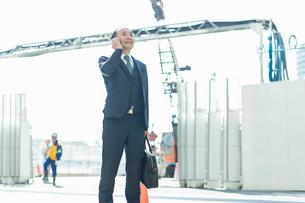 シニアのビジネスマンの写真素材 [FYI01820838]