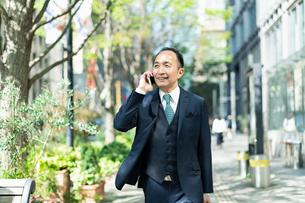 シニアのビジネスマンの写真素材 [FYI01820876]