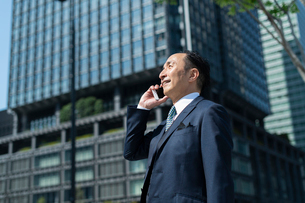 シニアのビジネスマンの写真素材 [FYI01821021]