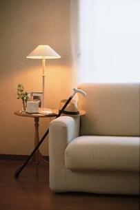 リビングのソファーの写真素材 [FYI01821032]