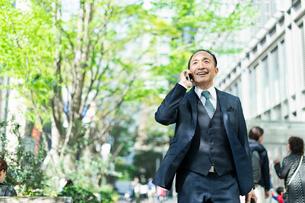 シニアのビジネスマンの写真素材 [FYI01821196]