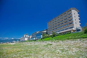 瀬波温泉海水浴の写真素材 [FYI01821829]