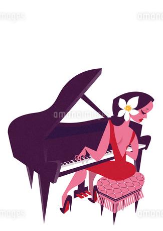 ピアニストのイラスト素材 [FYI01822436]