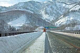 除雪の写真素材 [FYI01822457]