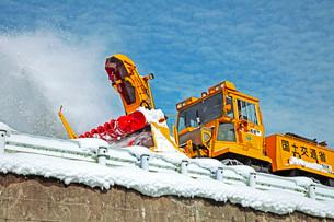 除雪の写真素材 [FYI01822564]