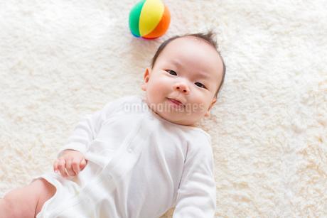 日本人の赤ちゃんの写真素材 [FYI01823020]