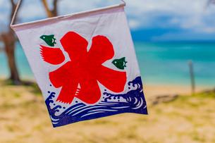 夏 沖縄の店先の写真素材 [FYI01823236]