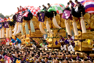 新居浜太鼓祭りの写真素材 [FYI01823483]